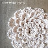 Ravelry: The NeverEnding Wildflower pattern by Little Monkeys Crochet.. You can make this as big as you want!.. Free pattern!