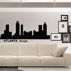 Atlanta Wall Decals Vinyl Stickers City Wall Decal Skyline Silhouette Removable Wall Art Decals Murals Home Decor for Living Room C002 FabWallDecals http://www.amazon.com/dp/B00WXFNPMK/ref=cm_sw_r_pi_dp_cy7rvb161RG2Z