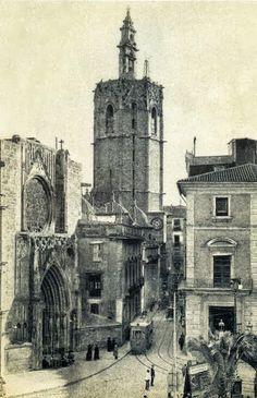 TORRES DE VALENCIA / El miguelete - 1910 / vintage / cities