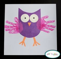 {Craft} Kids handprint painting » The Organised Housewife