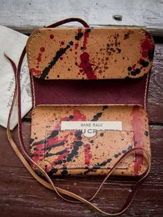 TC-21/1400 1/1 Tobacco Pouch, one piece, art hand painted. €60