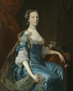 """Catherina Freman, The Honourable Mrs Charles Yorke"", Thomas Hudson, ca. 1755; NT 207789"