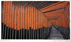 版画家 森村 玲(もりむら れい)の作品が、余裕で心を鷲掴み at 和の暮らしを楽しむブログ -瑠璃色Tradition-