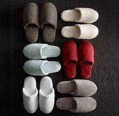 Luxury Robes & Slippers   RH