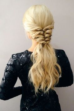 Upgraded Ponytail Hairstyles ★ See more: http://lovehairstyles.com/ways-ponytail-hairstyles-look-better/