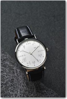 Mathematik - Design Armbanduhr Herren