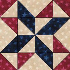 Free Quilt Patterns - Fat Quarter Shop - Moda Marbles Stars FREE QUILT…