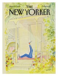 The New Yorker Cover - June 11, 1984 Premium Giclee Print