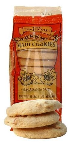 Macadamia Nut Cookkwees Maui Cookies 6 Ounces ** You can find out more details at the link of the image. Gourmet Cookies, Yummy Cookies, Hawaiian Cookies, Macadamia Nut Cookies, Kona Coffee, Root Beer, Raisin, Maui, Pineapple Coconut
