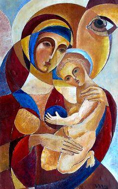 Vasiliy Myazin, Madonna with Child II