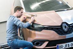 Renault Scenic 2016 JFA clay