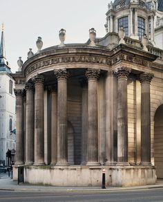 CITY OF LONDON   Bank of England by Sir John Soane architect