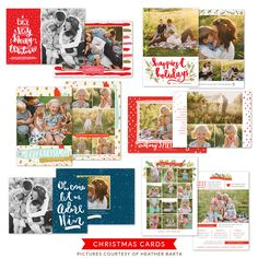Christmas Photocards Bundle | Very Merry Christmas - Birdesign