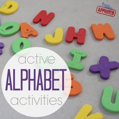 Toddler Approved!: Active Alphabet Activities {Get Ready for K Through Play}