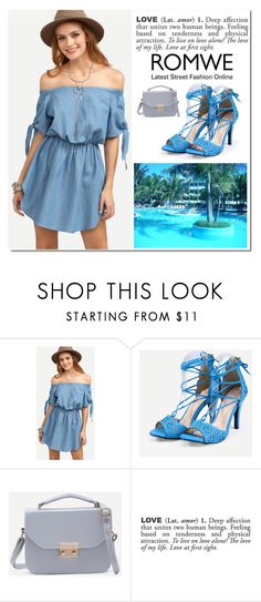 """""""Romwe 8 / 10"""" by binche ❤ liked on Polyvore featuring ADZif"""