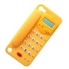 Amarillo-Suave-3d-telefono-Gel-De-Silicona-De-Goma-Funda-Para-Ipod-Touch-5-5g-Gen