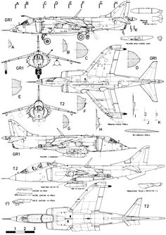 Hawker Siddeley Harrier blueprint