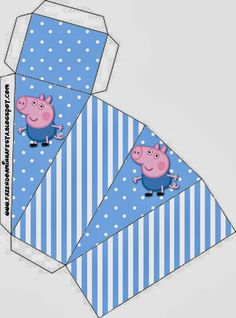 George Pig: Cajas para Imprimir Gratis.