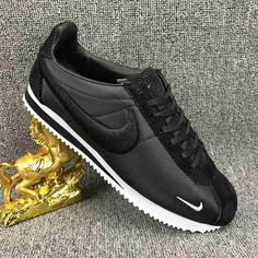 Nike Cortez Black, Nike Cortez Mens, Nike Cortez Shoes, Nike Classic Cortez, Adidas Shoes, Sneakers Nike, Baskets, Nike Gear, Nike Outlet