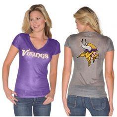 Women's Minnesota Vikings Touch by Alyssa Milano Love Charm Necklace