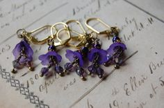 Art Nouveau Inspired CROCHET Stitch Markers  And I really NEED these!