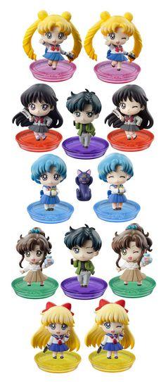 Sailor Moon Petit Chara Pretty Soldier Sammelfiguren 6 cm School Life Sailor Moon - Hadesflamme - Merchandise - Onlineshop für alles was das (Fan) Herz begehrt!