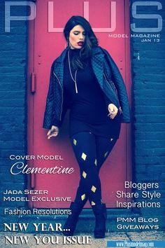 Plus Size PLUS Model Magazine