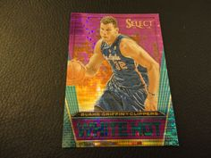 2013-14 Select Blake Griffin Purple Prizm White Hot 97/99 Los Angeles Clippers #LosAngelesClippers