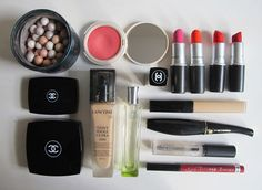 Inside my makeup bag