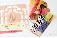 DIY Envelopes from up-cycling Fashion magazines
