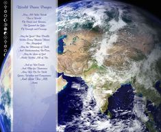 Prayer:: World Peace Prayer | 1000 Prayer For Peace, Power Of Prayer, Inspirational Quotes Pictures, Prayer Board, World Peace, Prayers, Blessed, Spirituality, Invitations