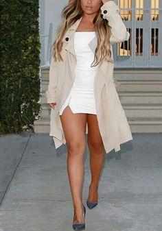 White Off-Shoulder Mini Dress
