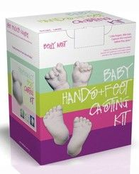 Diy baby foot print 51 off diy 3d baby hand and foot print stamp baby hands and feet casting kit im keeping one of these for myself solutioingenieria Gallery