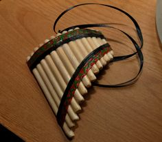Pan Flute Handmade Musical Instrument Decorative by AuntSophies, $30.00