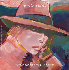 Joni Mitchell album cover painting by Howie Green www.hgd.com Joni Mitchell Paintings, Joni Mitchell Albums, Vinyl Sleeves, Damsel In Distress, Music Library, Album Covers, Art Projects, Doodles, Canada