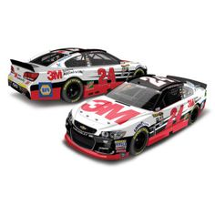 The red, black and white No. 24 3M Chevrolet would be a great addition to your die-cast collection.