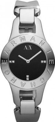 3c30ed4931d Relógio Armani Exchange Black Dial Stainless Steel Ladies Watch AX4090   Relogios  ArmaniExchange Relógio Feminino