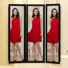 Joy Mangano Image 4™ Deluxe Four Panel Dressing Mirror At HSN.com
