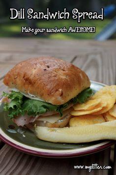 easy dill sandwich spread recipe - www.mylitter.com