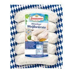 Münchner Weißwürste – 5 Stück   Zimmermann Metzger, Zimmermann, Food, Essen, Meals, Yemek, Eten