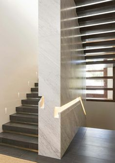 If you happen to be building a house, and it's going to be higher than one floor, you'll probably need a staircase. In most people's homes a staircase is just a functional means of travelling from … Staircase Handrail, Interior Staircase, Stair Railing, Staircase Design, Handrail Ideas, Architecture Details, Interior Architecture, Architecture Wallpaper, Escalier Design
