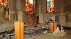 PARÍS, 11 Ene. 16 / 03:28 pm (ACI).-   El domingo 10 de enero ocurrieron diversos hechos anticristianos en la localidad de Fontainebleau, en Francia, como el incendio de dos iglesias, el derribo de una emblemática cruz y la profanación y robo de la Eucaristía.