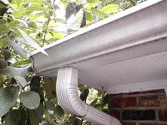 Aluminum gutters can be painted quite easily. This is wonderful news!!