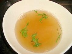 簡単! 塩ラーメンスープ レシピ・作り方