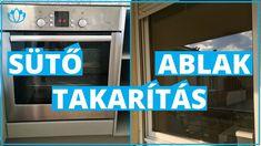 Sütő és ablak takarítás | tippek Youtube, Youtube Movies