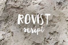 Rovist is brush script font, every single letters have been carefully crafted to make your project with this font looks beautiful. With brush script style this