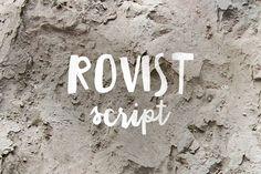 Rovist Script by vuuuds on @creativemarket
