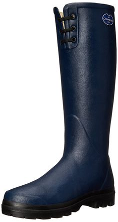 Le Chameau Footwear Women's Lisiere Rain Boot -- Discover this special boots, click the image : Women's boots