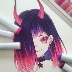 Learn To Draw Manga - Drawing On Demand Copic Drawings, Anime Drawings Sketches, Kawaii Drawings, Manga Drawing, Manga Art, Cute Drawings, Manga Anime, Smile Drawing, Copic Marker Art