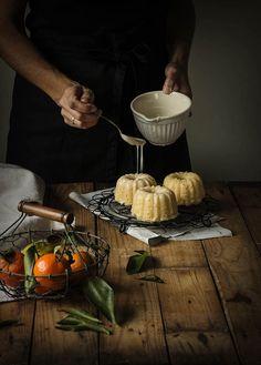 Tangerin mini Bundt Cakes